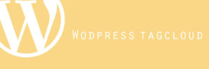 WordPress タグクラウドの文字を統一する〜初期値を変更する〜