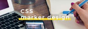 CSSで蛍光ペンで下線を引いたようなマーカー風デザインを作る方法