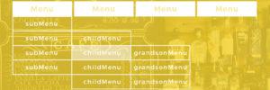 CSSのみで多階層のプルダウンメニューを作る【改訂版】